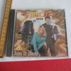 Cine: DOCTOR WHO ARMY OF GHOSTS. DVD VIDEO EN INGLÉS, SINGLE EPISODE PROMOTIONAL FROM THE SUN. Lote 104247891