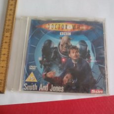 Cine: DOCTOR WHO SMITH AND JONES. DVD VIDEO EN INGLÉS, SINGLE EPISODE PROMOTIONAL FROM THE SUN. Lote 104248207