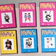 Series de TV: RANMA 1/2: LOTE DE 6 DVDS (EI). Lote 104834375