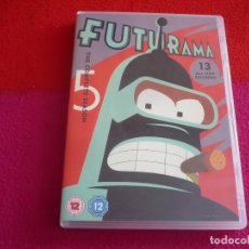 Series de TV: FUTURAMA TEMPORADA 5 ( MATT GROENING ) DVD PAL UK CON SUBTITULOS EN ESPAÑOL. Lote 105262123
