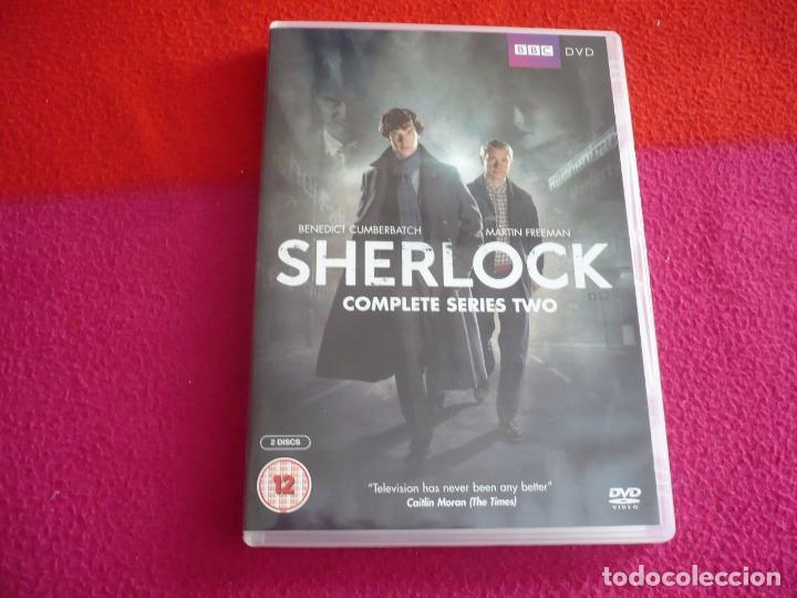 SHERLOCK TEMPORADA 2 SEGUNDA ( CUMBERBATCH ) BBC DVD PAL UK CON VOCES Y SUBTITULOS EN INGLES (Series TV en DVD)