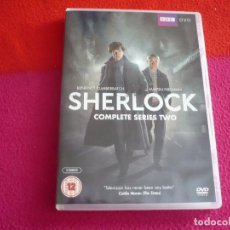 Series de TV: SHERLOCK TEMPORADA 2 SEGUNDA ( CUMBERBATCH ) BBC DVD PAL UK CON VOCES Y SUBTITULOS EN INGLES. Lote 105263387