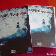 Series de TV: HARPER'S ISLAND COMPLETA DVD TERROR PAL UK CON VOCES Y SUBTITULOS EN INGLES. Lote 105263535