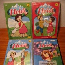 Series de TV: 4 DVD HEIDI CONTIENE 10 EPISODIOS PLANETA DE AGOSTINI Y RBA 2010 2003. Lote 105705763