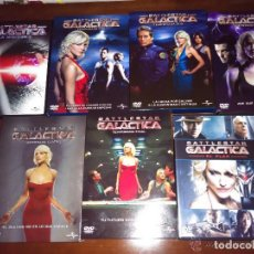 Cine: PACK SERIE DE TELEVISIÓN - BATTLESTAR GALACTICA - COMPLETA 5 TEMPORADAS + LA MINISERIE + EL PLAN. Lote 105914831