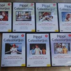 Cine: DVD. PIPPI. SERIE COMPLETA COMO NUEVA. IDEAL PARA REGALO.. Lote 105920786