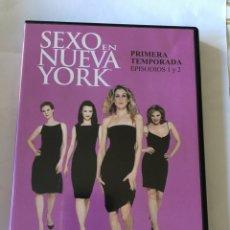 Series de TV: SEXO EN NUEVA YORK TEMPORADA 1 EPISODIOS 1 Y 2. Lote 106187499