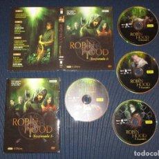 Series de TV: ROBIN HOOD ( TEMPORADA 1 ) - DVD - 4 DISCOS - EDICION 00449 - BBC - JONAS ARMSTRONG - LUCY GRIFFITHS. Lote 106613635