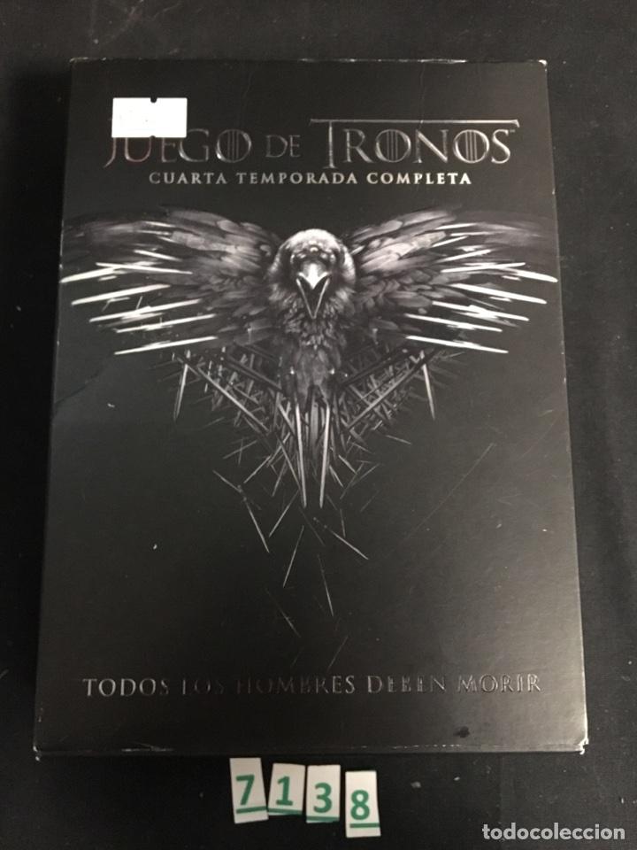 juego de tronos:cuarta temporada ( dvd segunda - Comprar Series de ...
