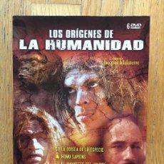 Series de TV: LOS ORIGENES DE LA HUMANIDAD, 6 DVDS,. Lote 106954151