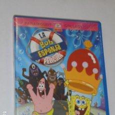 Séries de TV: BOB ESPONJA LA PELICULA - DVD -. Lote 107033179