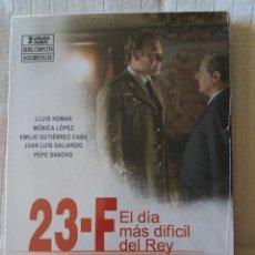 Cine: 23-F EL DÍA MÁS LARGO DEL REY (2 DVD). Lote 107098783