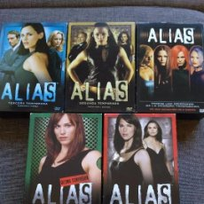 Series de TV: SERIE DVD - ALIAS - 5 TEMPORADAS - ESPAÑA - JENNIFER GARNER - COMPLETA. Lote 105424327