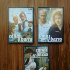 Cine: CAÑAS Y BARRO. - SERIE 3 DVDS.. Lote 107466480