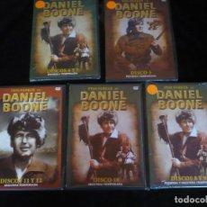 Series de TV: FESS PARKER EN DANIEL BOONE, 8 DISCOS EN 5 ESTUCHES NUEVOS PRECINTADOS MENOS EL DEL DISCO 11 Y 12. Lote 107603031