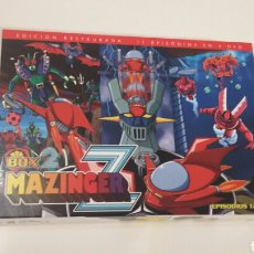 Series de TV: DVD MAZINGER Z BOX 2 SELECTA VISIÓN EPISODIOS 12-22. Lote 108446050