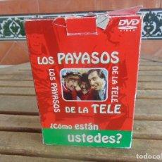 Cine: LOS PAYASOS DE LA TELE 5 DVD 11 CAPITULOS 7 EN COLOR Y 4 EN BLANCO Y NEGRO DE PLANETA. Lote 108703879