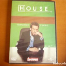 Series de TV: SERIE HOUSE TEMPORADA 4 NUEVA 6 DVD. Lote 108854103