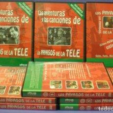 Séries de TV: LOS PAYASOS DE LA TELE - SERIE COMPLETA (5 DVDS) + 2 DVDS INÉDITOS + CD. Lote 109071767