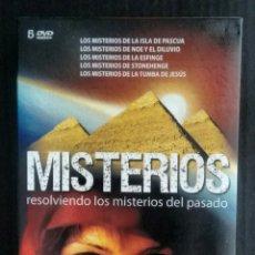 Cine: DOCUMENTALES. PACK MISTERIOS. DVD. RESOLVIENDO LOS MISTERIOS DEL PASADO.. Lote 109094067