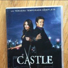 Series de TV: CASTLE TERCERA TEMPORADA COMPLETA 6 DVDS. Lote 109317075