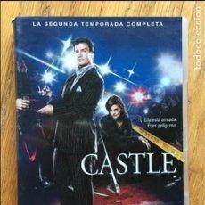 Series de TV: CASTLE SEGUNDA TEMPORADA COMPLETA, 6 DVDS. Lote 109317187