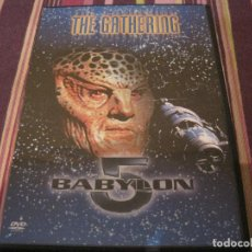 Series de TV: DVD- BAYLON 5 THE GATHERING SERIE CIENCIA FICCION TELEVISION. Lote 109345059