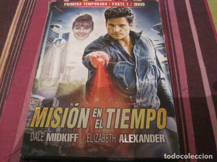 DVD-MISION EN EL TIEMPO 1ª TEMPORADA PARTE 1 SERIE CIENCIA FICCION TELEVISION (Series TV en DVD)