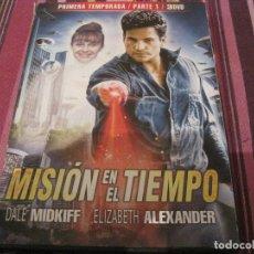 Series de TV: DVD-MISION EN EL TIEMPO 1ª TEMPORADA PARTE 1 SERIE CIENCIA FICCION TELEVISION. Lote 109345243