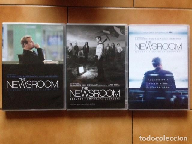SERIE TV DVD - THE NEWSROOM SERIE COMPLETA 3 TEMPORADAS ( AARON SORKIN ) (Series TV en DVD)