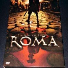 Series de TV: ROMA HBO TEMPORADA UNO 1 COMPLETA EN DVD SERIE EDICIÓN FUNDA CON 3 CAJAS SLIM. Lote 110158115