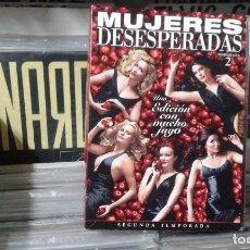 Series de TV: MUJERES DESESPERADAS SEGUNDA TEMPORADA CAPITULOS DEL 1 AL 24 MAS EXTRA. Lote 110654539