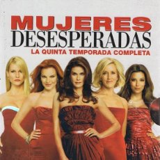 Series de TV: MUJERES DESESPERADAS TEMPORADA 5 COMPLETA ( 7 DVD). Lote 131620738