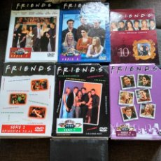 Series de TV: SERIE DVD FRIENDS - TEMPORADAS 1 , 2 , 3 , 4 , 5 , 6 Y 10 - ESPAÑA. Lote 111236067