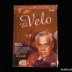 Series de TV: EL VELO SERIE COMPLETA EN 3 DVD'S, BORIS KARLOFF - DVD NUEVO PRECINTADO. Lote 111344531