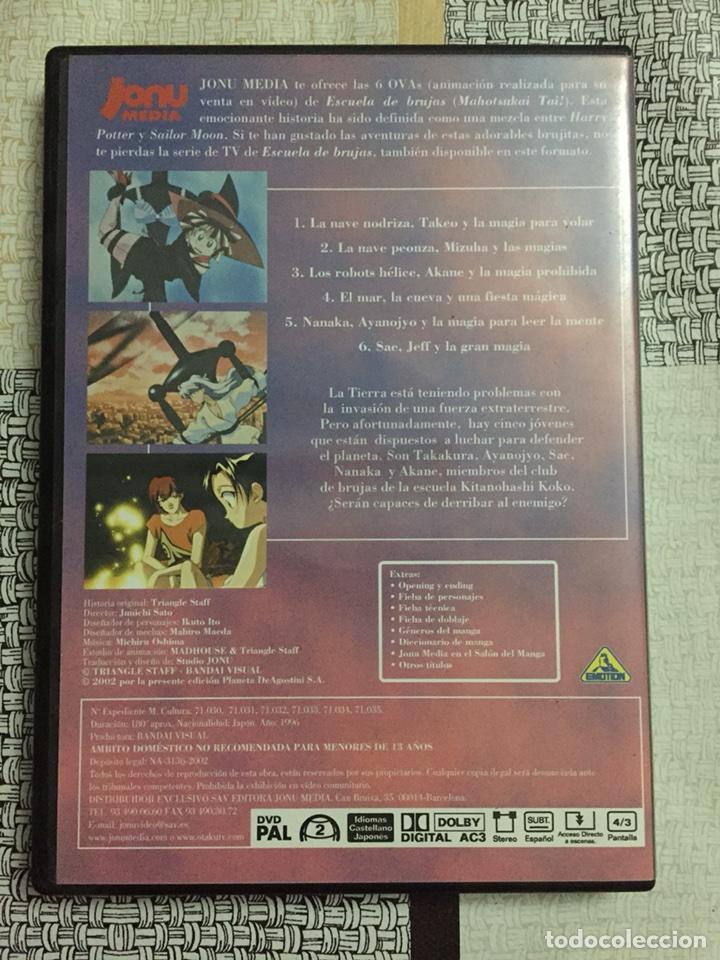 Series de TV: Dvd Escuela de brujas Mahotsukai tai! Ovas. Jonu media. 2002 - Foto 3 - 111515779