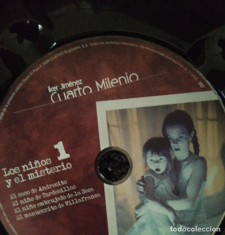 Series de TV: LIBRO DVD CUARTO MILENIO - LOS NIÑOS Y EL MISTERIO- COLECCION CUATRO EL PAIS -Nº1 -2.008 - Foto 2 - 111520451