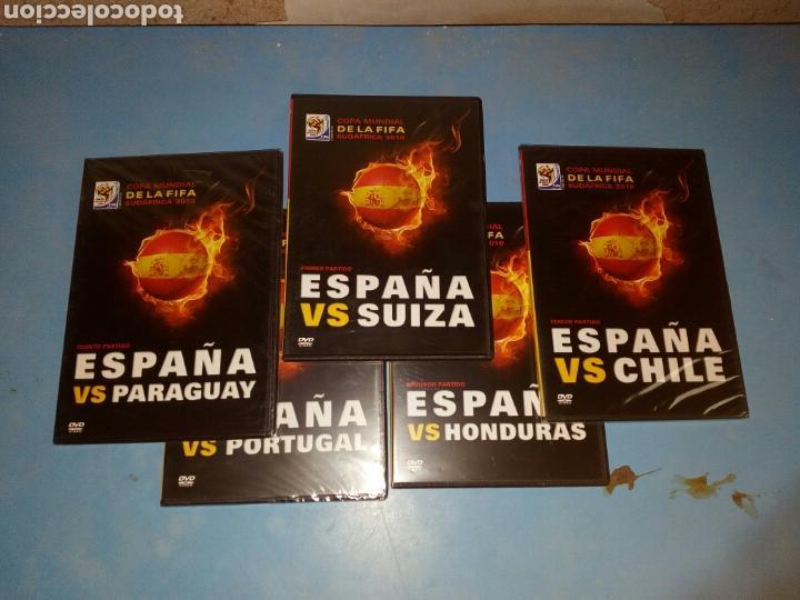 5 DVDS COPA MUNDIAL SUDAFRICA 2010 ,LOS 5 PRIMEROS PARTIDOS (Series TV en DVD)