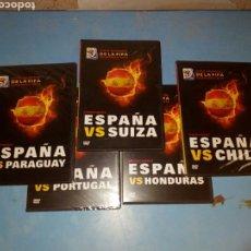 Series de TV: 5 DVDS COPA MUNDIAL SUDAFRICA 2010 ,LOS 5 PRIMEROS PARTIDOS. Lote 111740048