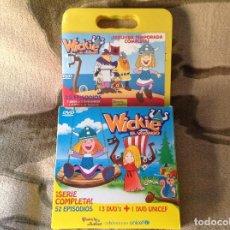 Cine: WICKIE EL VIKINGO COMPLETA EN DVD.77 EPISODIOS.. Lote 111787507