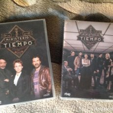 Cine: EL MINISTERIO DEL TIEMPO 2 TEMPORADAS EN DVD.. Lote 111787751