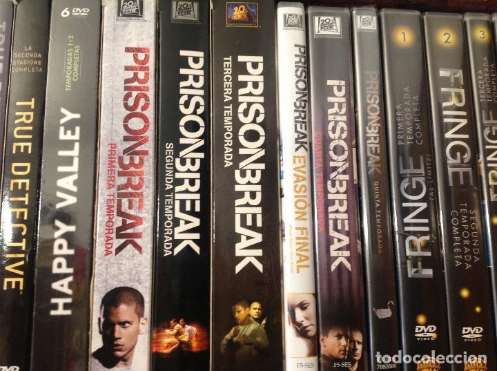 PRISON BREAK COMPLETA EN DVD 5 TEMPORADAS MAS EVASION FINAL. (Series TV en DVD)