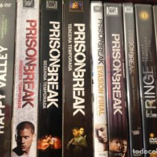 Series de TV: PRISON BREAK COMPLETA EN DVD 5 TEMPORADAS MAS EVASION FINAL.. Lote 111787867