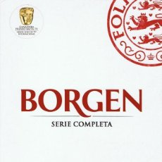 Series de TV: DVD BORGEN SERIE COMPLETA (12 DVD). Lote 111963947