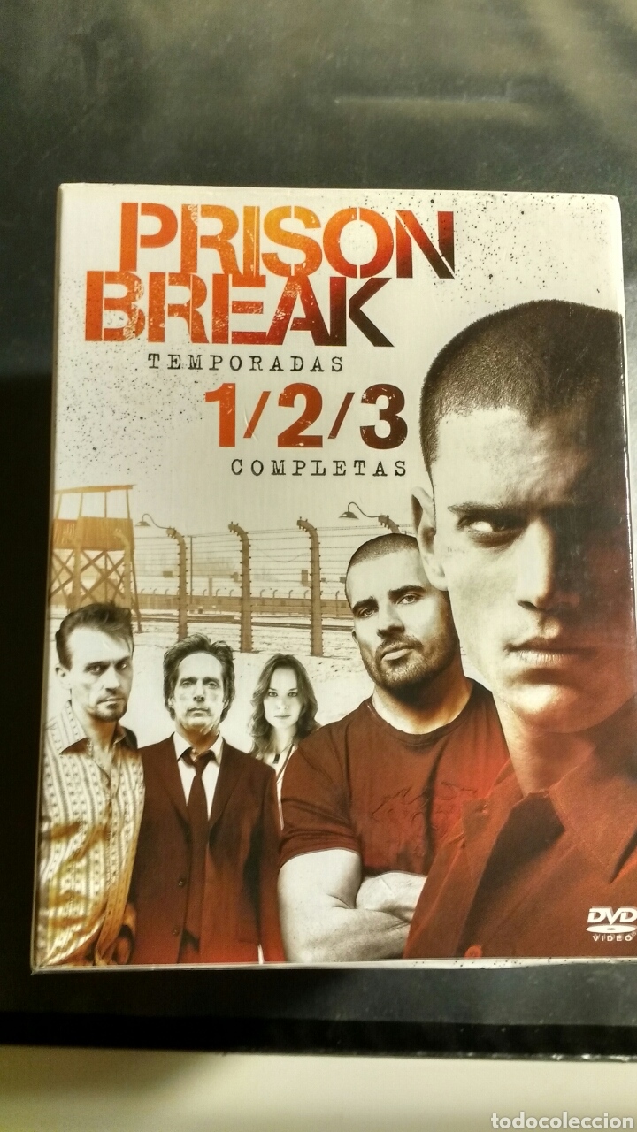 PRISON BREAK 3 TEMPORADAS. (Series TV en DVD)