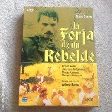 Cine: LA FORJA DE UN REBELDE DVD DE MARIO CAMUS **SERIE COMPLETA EN 3 DVD** DESCATALOGADA . Lote 112660367