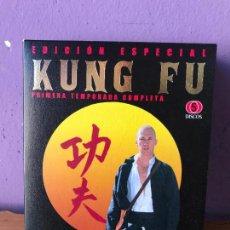 Cine: KUNG FU. EDICION ESPECIAL. PRIMERA TEMPORADA COMPLETA. DVD. WARNERBROS 2008. VER FOTOS. Lote 112696163