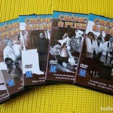 Cine: CRONICAS DE UN PUEBLO (PACK 5.DVD) - LA SERIE QUE PARALIZÓ ESPAÑA ANTE EL TELEVISOR (IMPECABLE). Lote 112704123