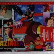 Cine: DVD MAZINGER Z: PACK Nº 5, 11 EPISODIOS EN 3 DVDS, EPISODIOS DEL 47 AL 57 - PRECINTADO. Lote 112709091