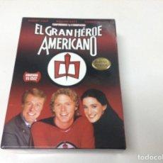 Cine: EL GRAN HEROE AMERICANO TEMPORADAS 1 Y 2 COMPLETAS . EDICION ESPAÑOLA. Lote 112744271